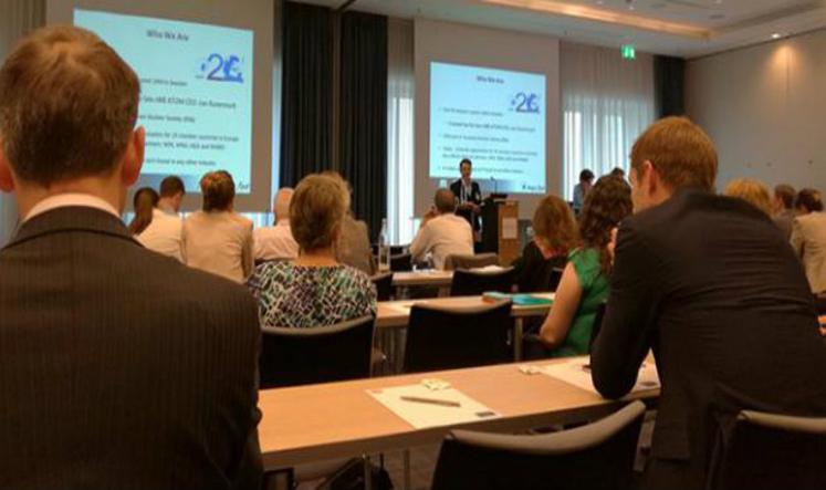 La CNEA junto a la Sociedad Nuclear Europea